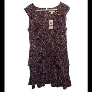 Michael Kors flower ruffle dress